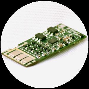 SMD-Leiterplatten Beispiel bei Esysco
