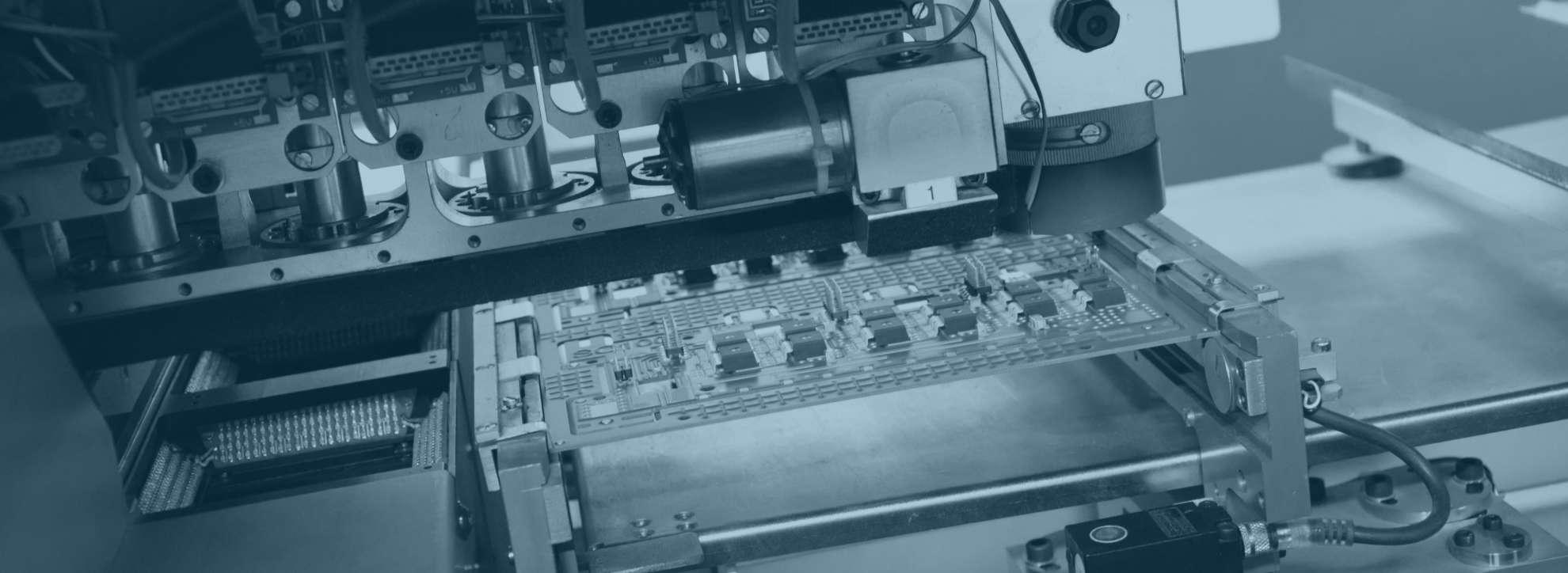 Mimot Bestückungsautomaten smd Leiterplatten bei Esysco SMD-Bestückung